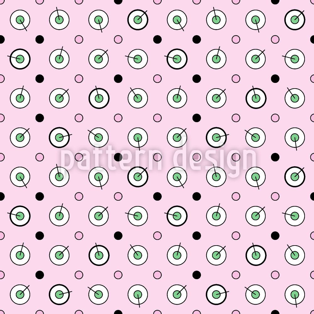 Pattern Wallpaper Circles and Dots