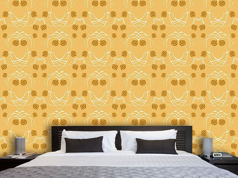 Pattern Wallpaper Arwens Dream Gold