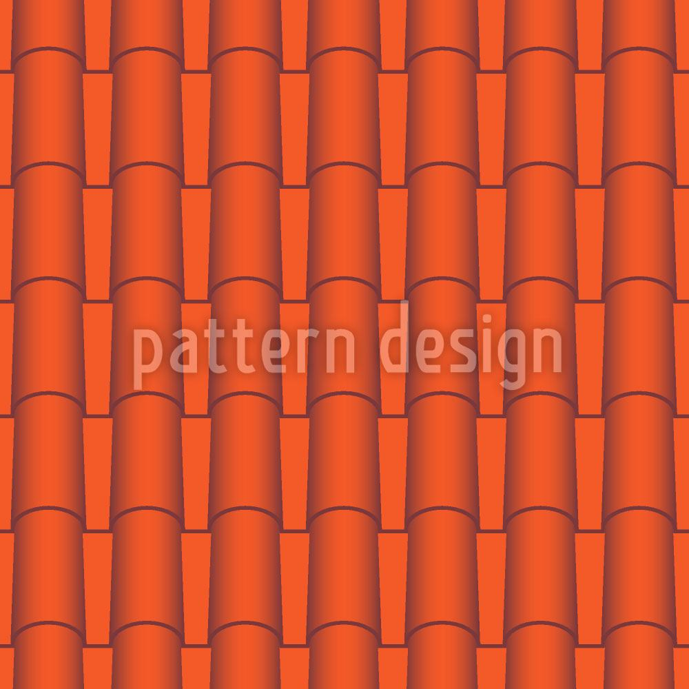 Pattern Wallpaper Hot Roof