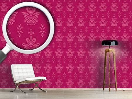 Pattern Wallpaper Jaipur Pink