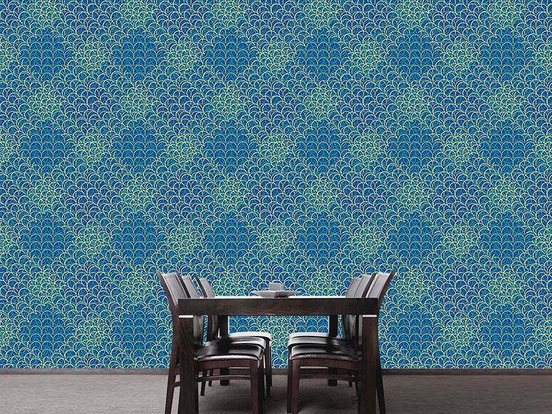 Pattern Wallpaper Space Oddity