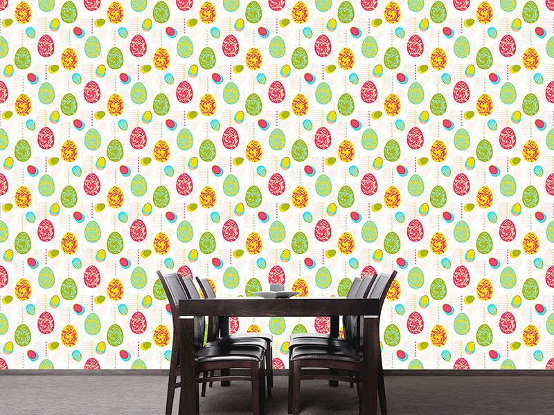 Pattern Wallpaper Renaissance Of The Easter Eggs