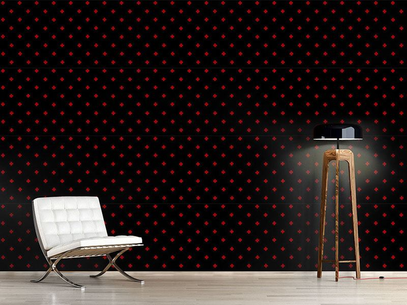 Pattern Wallpaper The Cross Of Thor