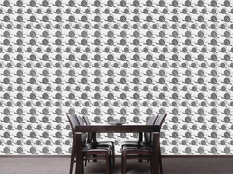 Pattern Wallpaper Snail Trail