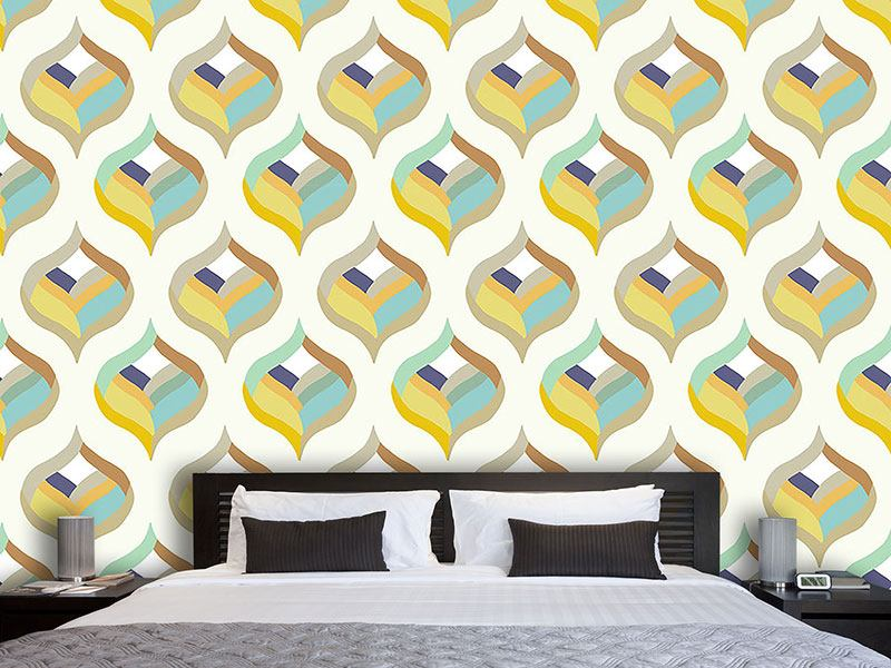 Pattern Wallpaper Ogee