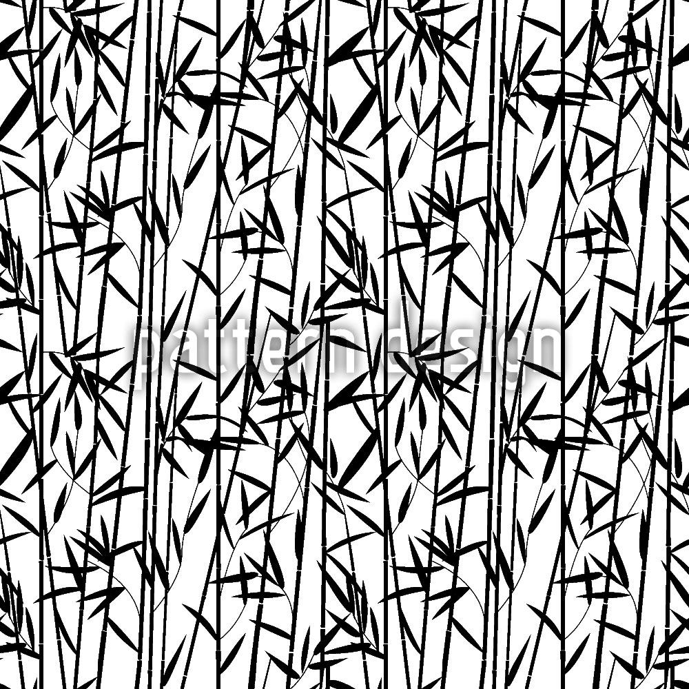 Pattern Wallpaper Bamboo Strips