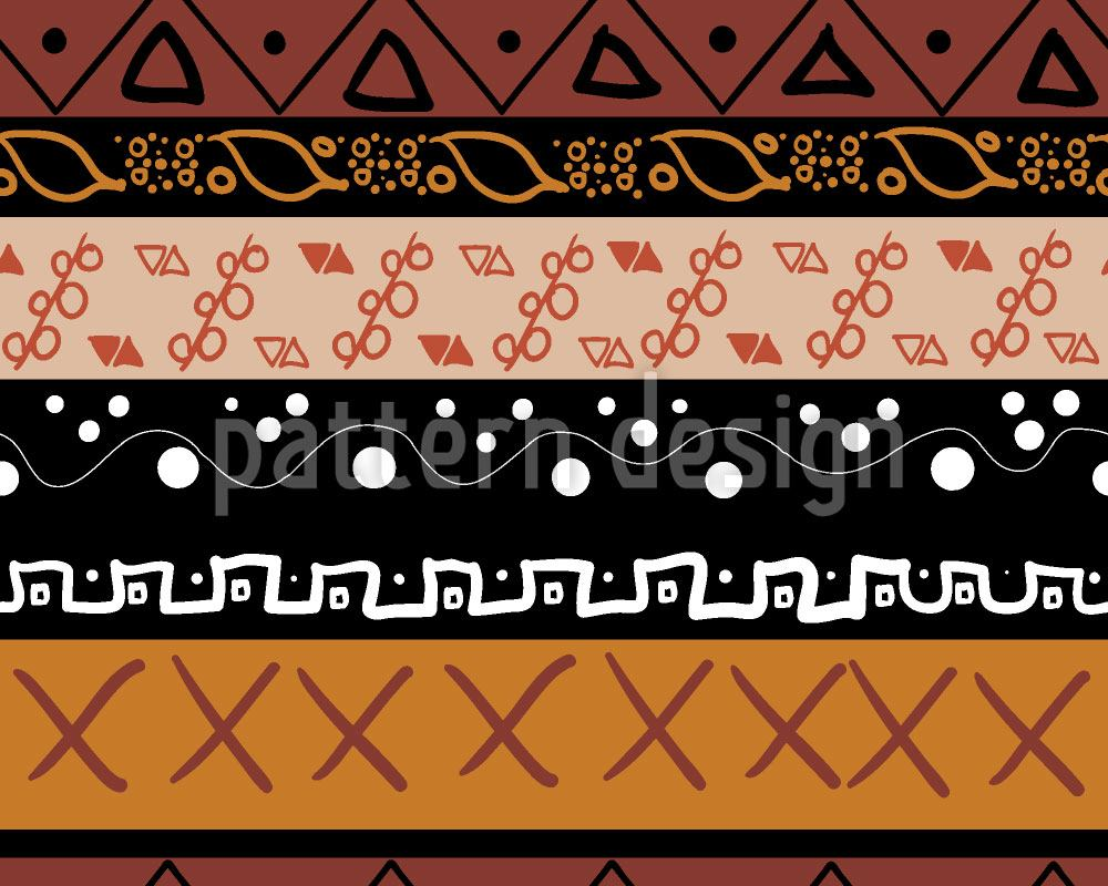 Pattern Wallpaper Indian Elements