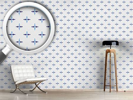 Pattern Wallpaper Icicle Crosses