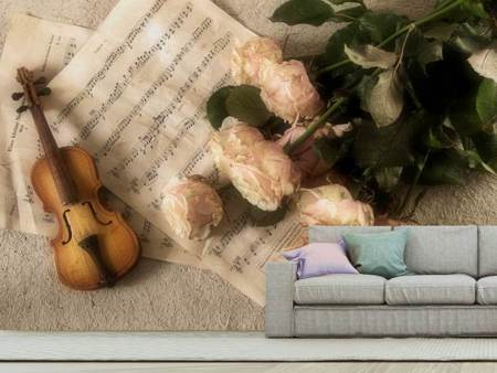 Photo Wallpaper The violin