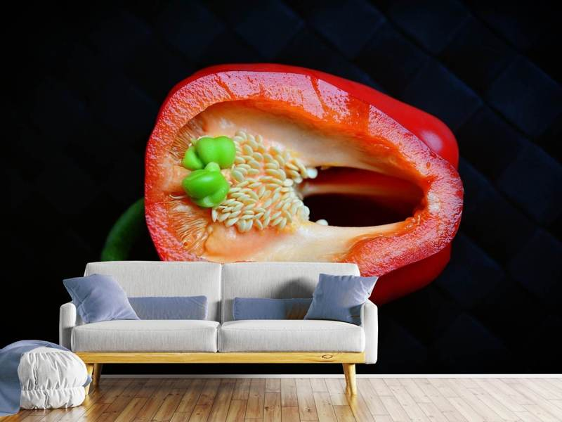 Photo Wallpaper Red pepper