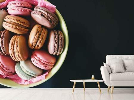 Photo Wallpaper A bowl of macaroons