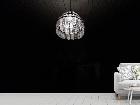 Photo Wallpaper Retro chandelier