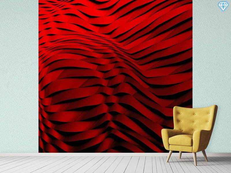 Photo Wallpaper Woven Wave