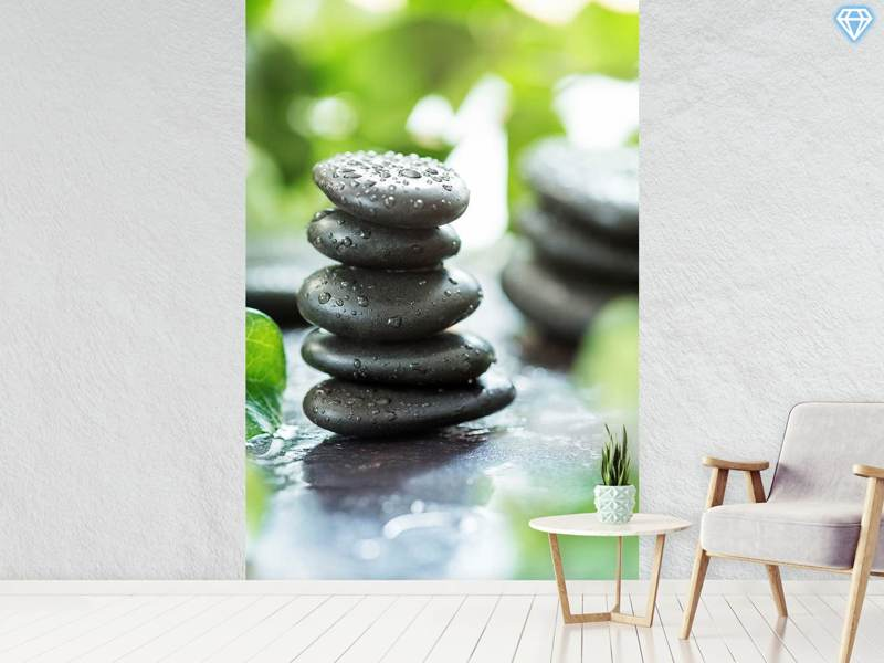 Photo Wallpaper Zen Pebbles
