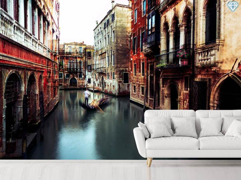 Photo Wallpaper The Gondolier