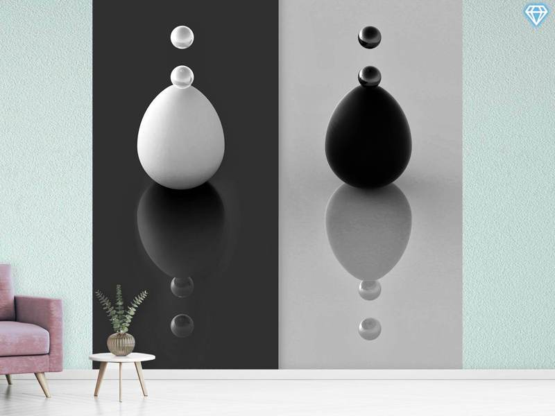 Photo Wallpaper Yin Yang Eggs