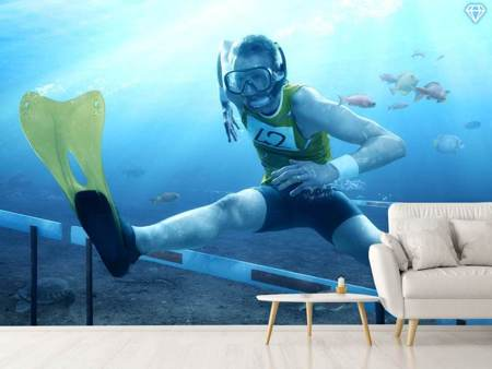 Photo Wallpaper Underwater Hurdling