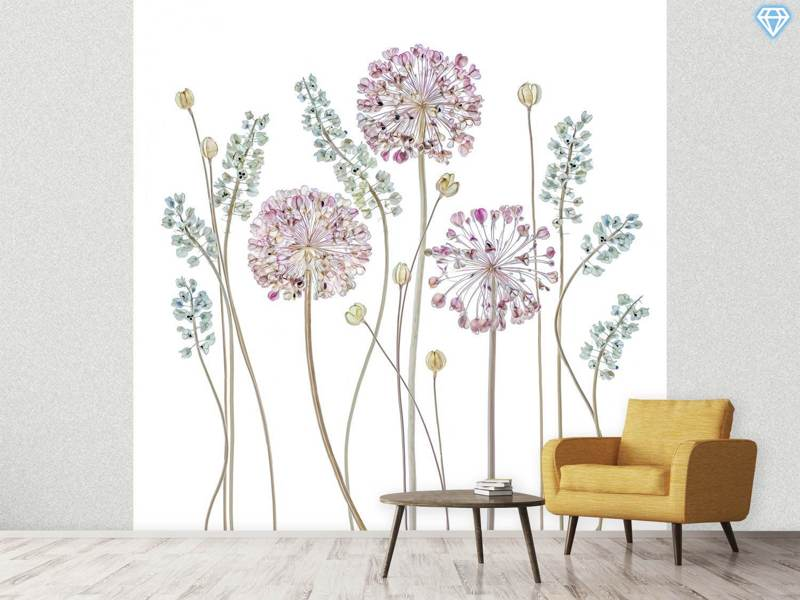 Photo Wallpaper Allium A