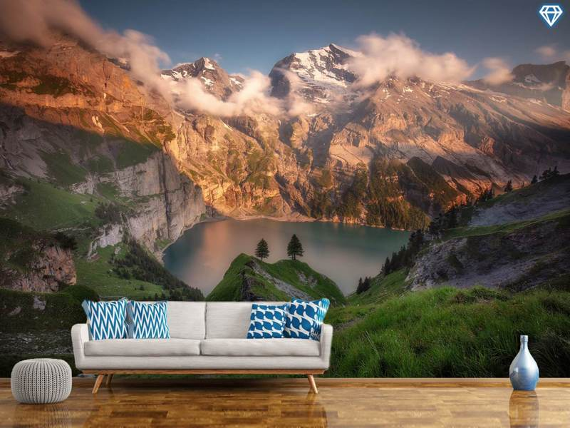 Photo Wallpaper Oeschinensee
