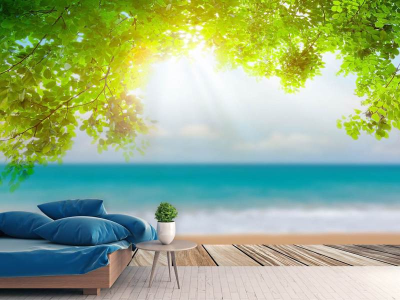 Photo Wallpaper Beach Terrace